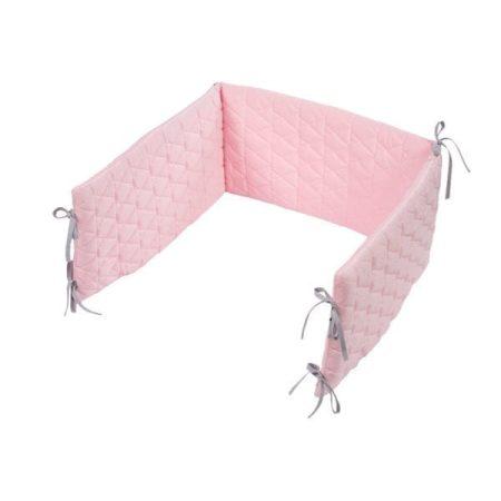 Albero Mio bársony rácsvédő - pink