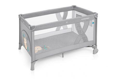 Baby Design Simple fix utazóágy - 07 Light Grey 2019
